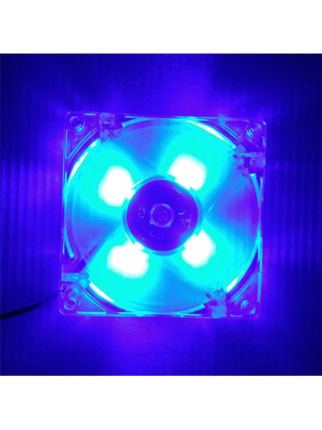 Ventilador LED 12V para bartop, consola hdmi, raspberry pi y maquinas recreativas arcade