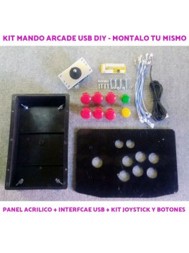 Kit DIY Joystick Arcade USB