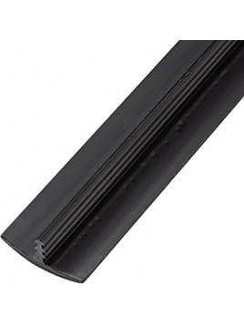 T-molding 19mm Negro Mate Alta Calidad