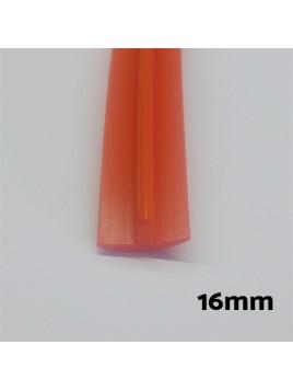 Moldura canto 16mm Rojo bartop