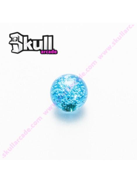 Bola Azul Translúcida para joystick arcade raspberry pi