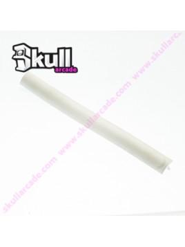 T molding 16 mm blanco mate de alta calidad para maquinas recreativas arcade y bartops