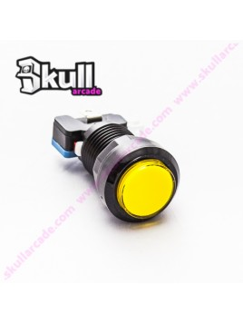 Botón Led Amarillo 31 mm