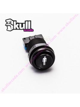 Botón Player 1 Negro 33mm