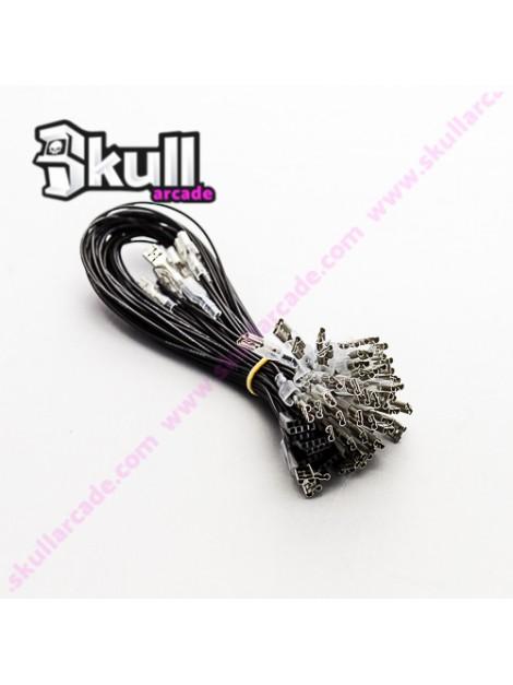 Cableado Wire Pin - Faston 4.8 mm