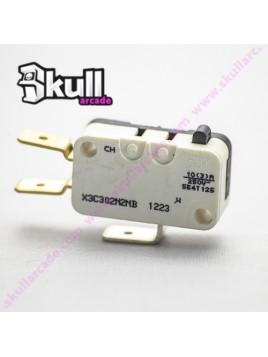 Microswitch Pulsador saia burgess 6.3 mm para bartop , maquinitas de videojuegos y botones arcade