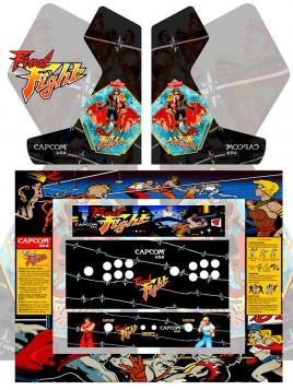 Diseño de vinilos para maquinas arcade y bartop