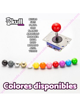 Kit joystick iluminado Led Bartop arcade Botón Led + Joystick Led 12v