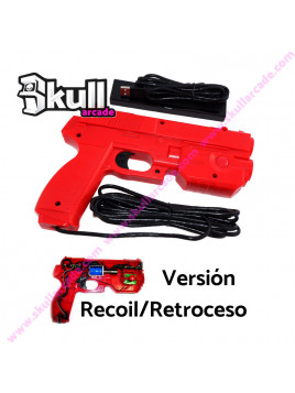 Pistola USB Aimtrack Roja RECOIL Retroceso