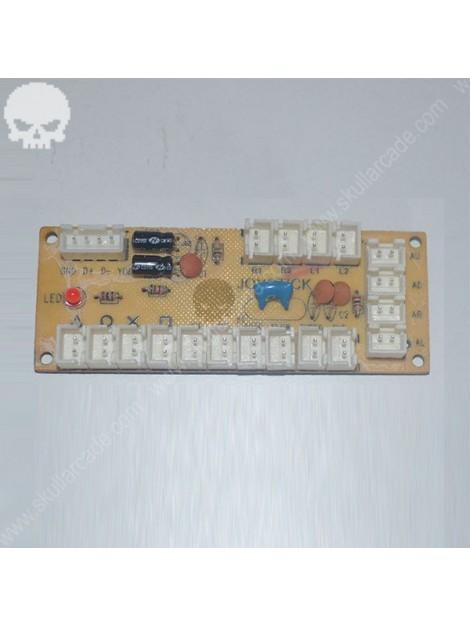 Interface USB 1 Player para consola arcade multijuegos